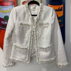 Boston Proper SZ 6 Chanel-style Blazer